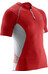 Salomon M's S-lab Exo Zip Tee Racing Red/White